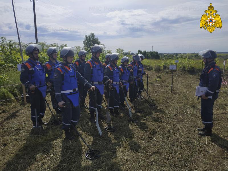 Разминирование: как МЧС работает с отголосками войны в Ржевском районе Тверской области