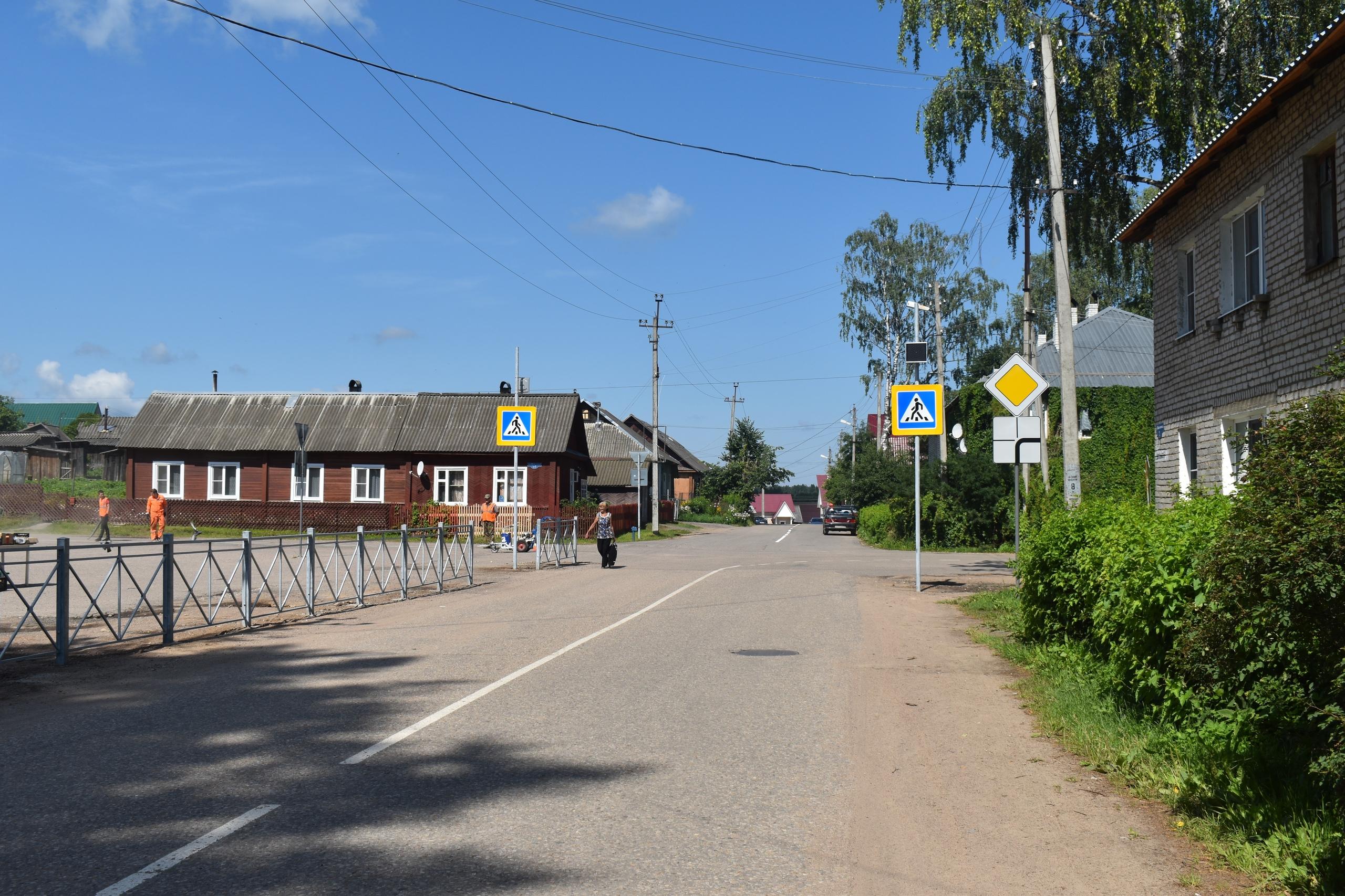 Новые светофоры появились в городе Тверской области