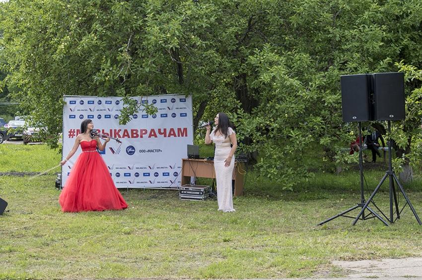 Золотая скрипка России сыграла в благодарность тверским врачам