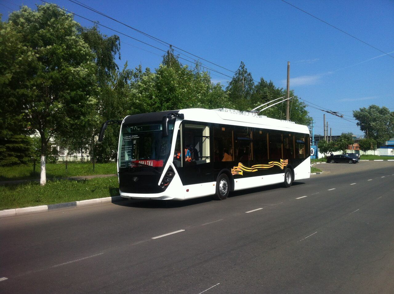 Тверские троллейбусы могут уехать работать в Ярославль