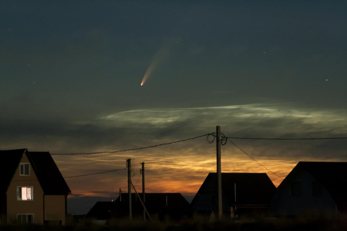 Парад планет и комета - жители Тверской области следят за космическими явлениями