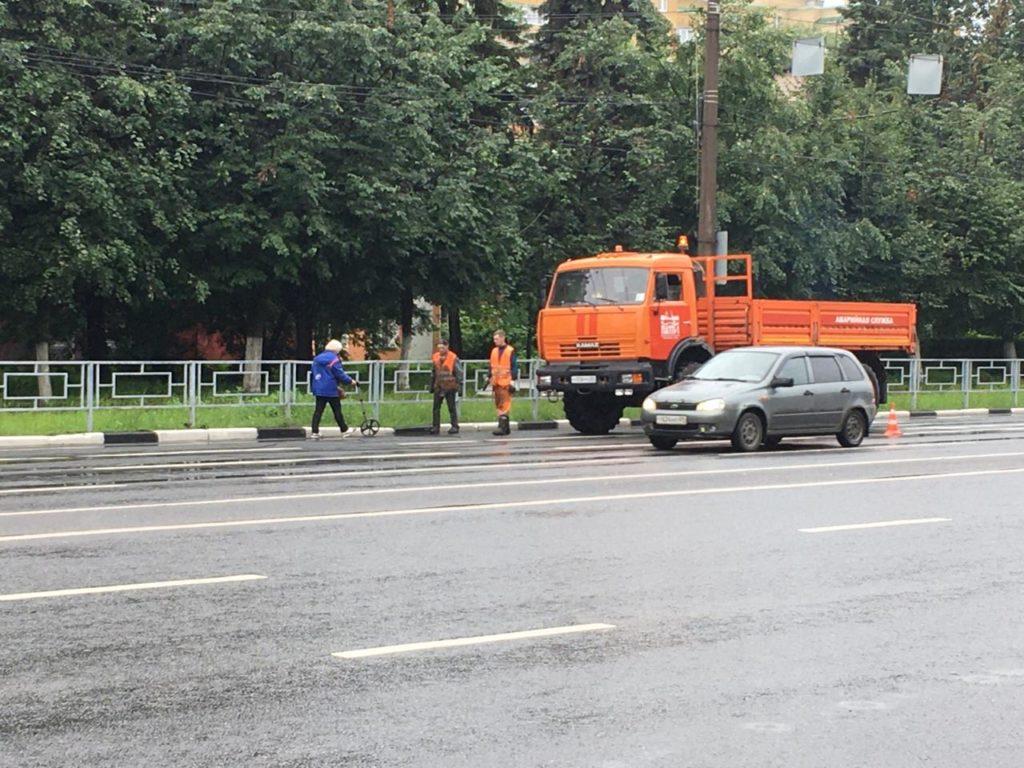 В Твери демонтируют контактную сеть троллейбусов