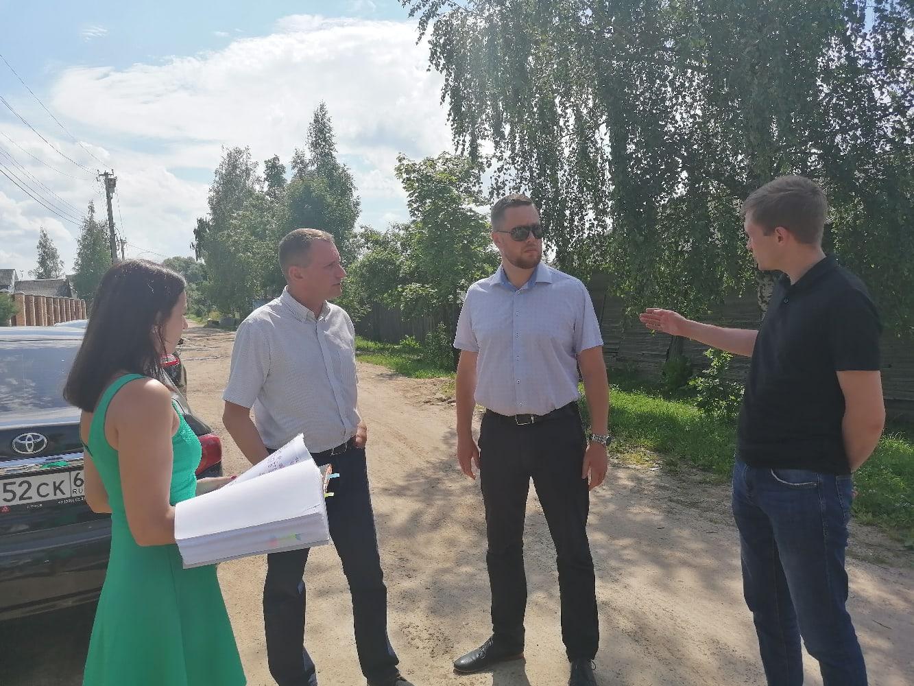 В Ржеве строят новый многоквартирный дом