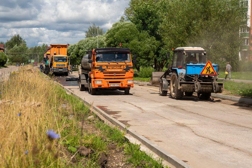 Калининская АЭС: 60 млн рублей направлены на ремонт дорожной сети Удомли