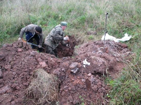 В котловане в Тверской области нашли останки двух советских военных