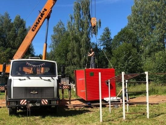 В школах Оленинского района продолжается подготовка к отопительному сезону