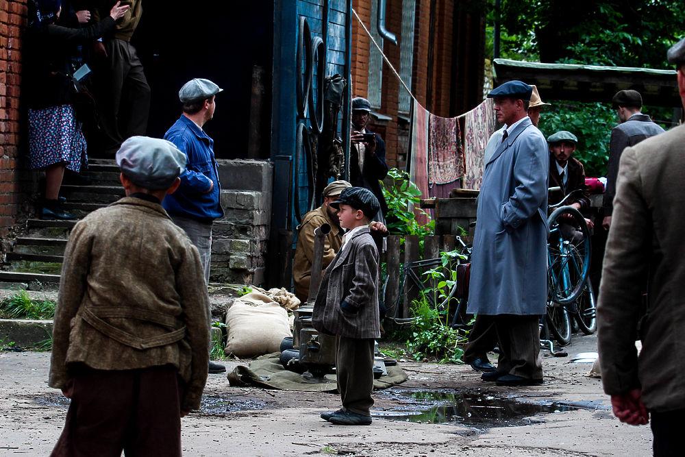 Константин Хабенский посетил Тверь для съемок в сериале