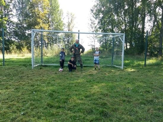 В Тверской области восстановили спортивную площадку