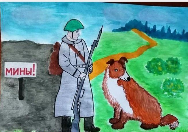 Рисунки юных художников Тверской области вошли в виртуальную выставку Музея Победы