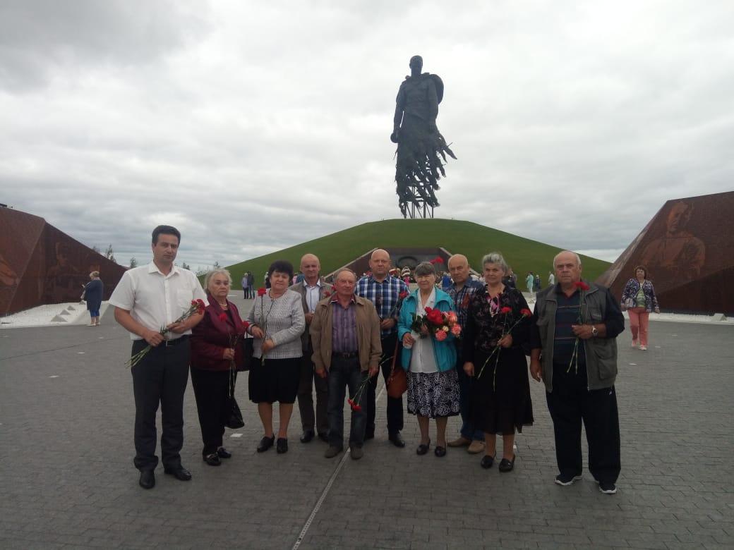 Делегация из района в Тверской области посетила мемориал Советскому солдату под Ржевом