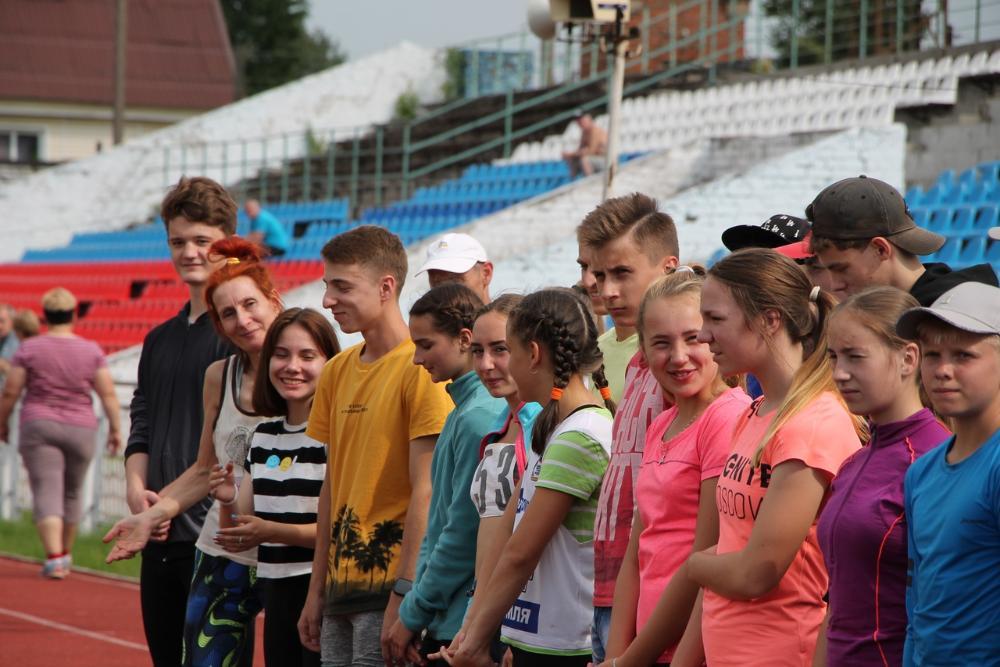 В Вышнем Волочке прошел областной чемпионат по легкой атлетике