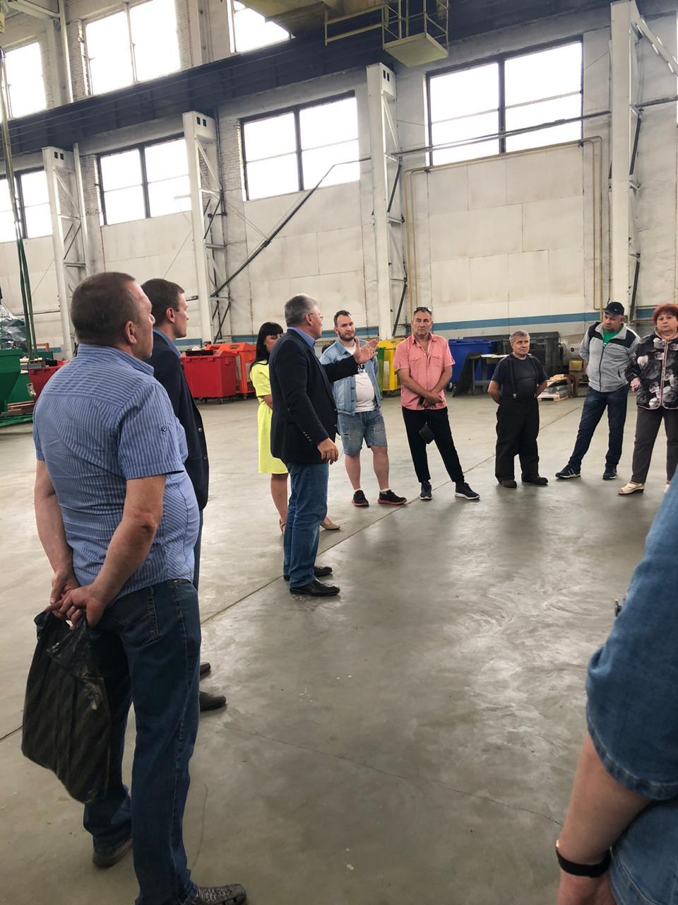 Андрей Белоцерковский посетил РжевМаш - завод по спасению экологии