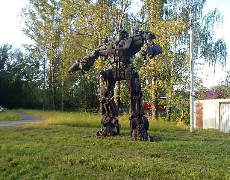 В Тверской области был замечен Оптимус Прайм