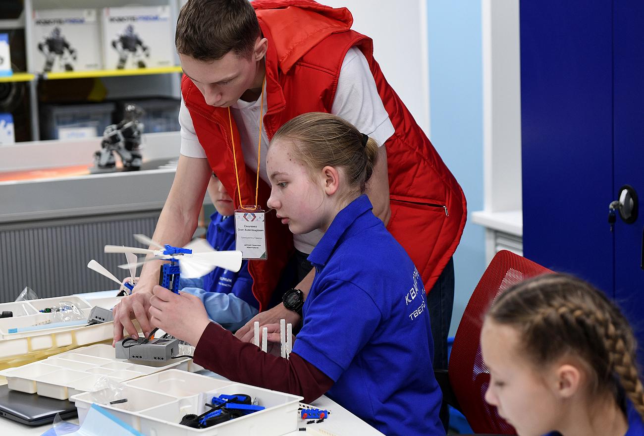 Мобильный технопарк «Кванториум» будет работать в районах Тверской области