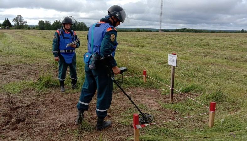 В Тверской области пиротехники нашли более полутора тысяч неразорвавшихся мин и снарядов