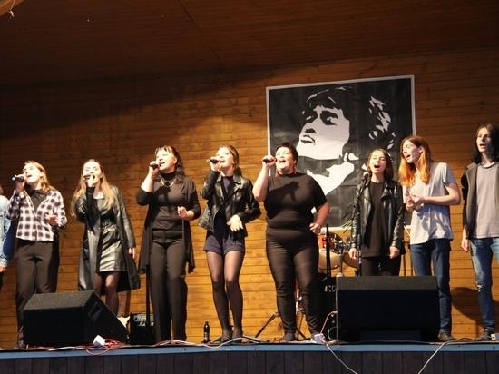 В память о Викторе Цое прошел концерт в Тверской области