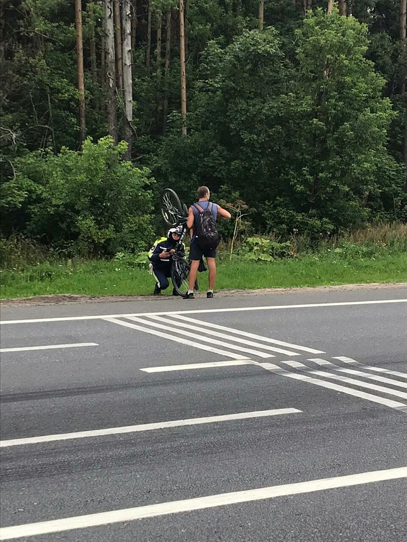 Тверские автоинспекторы проверили велосипедистов на знание ПДД
