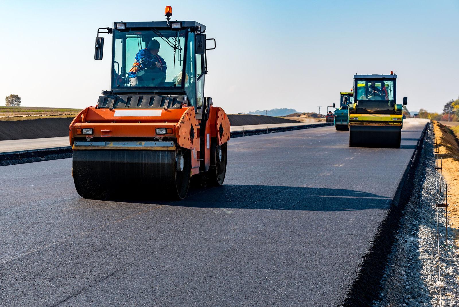 В Тверской области идет активное строительство дорог