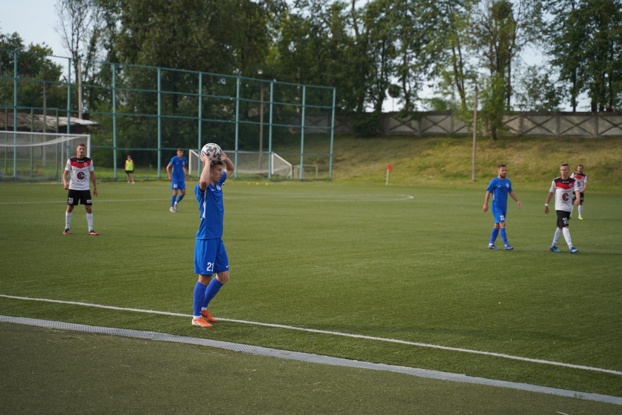 Первый блин - ... : Дебютная ига в профессиональном футболе для тверской команды закончилась поражением