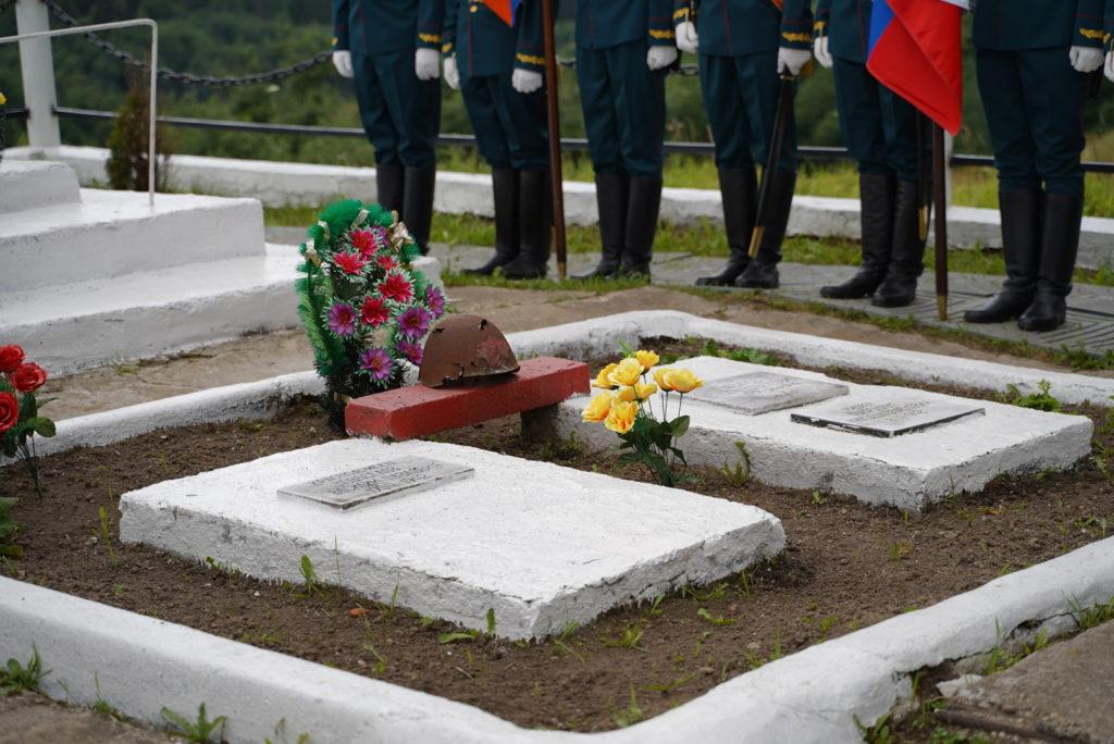 В Тверской области перезахоронили останки красноармейцев