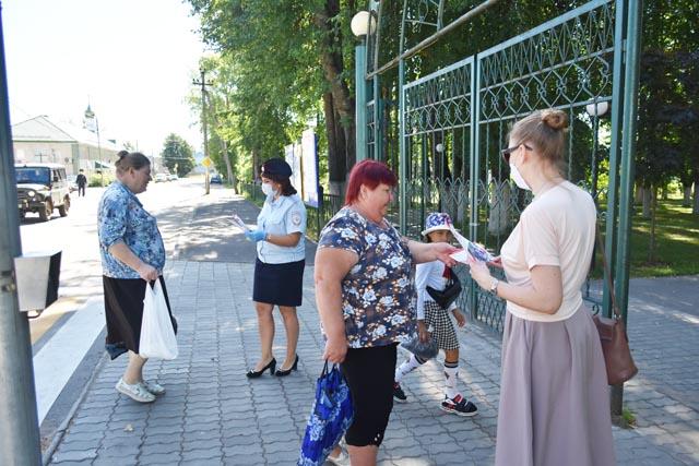 """В районе Тверской области прошла акция """"Внимание - дети!"""""""