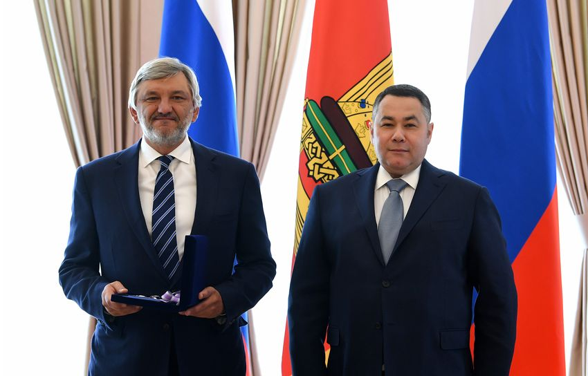 Тверской губернатор наградил Игоря Бутмана и Сергея Попова за помощь региону в борьбе с коронавирусом