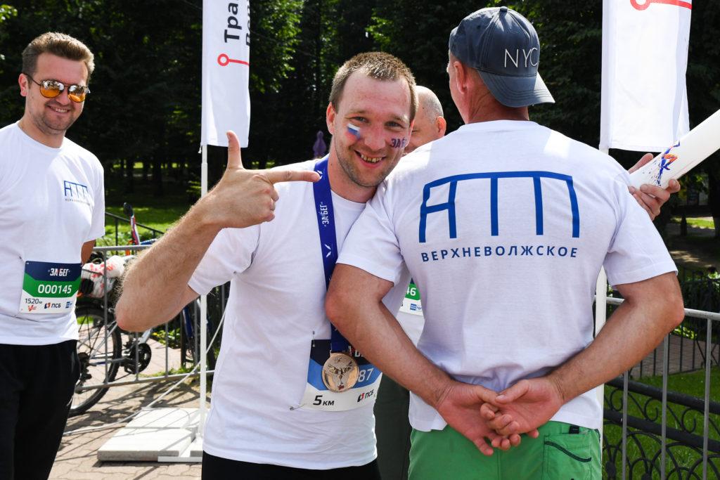 Фото с Всероссийского полумарафона «Забег.РФ»в Твери