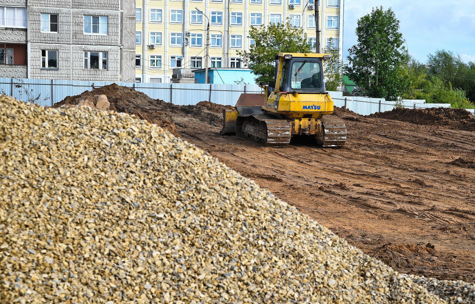 Строительство новой детской больницы в Твери находится на стадии сооружения котлована