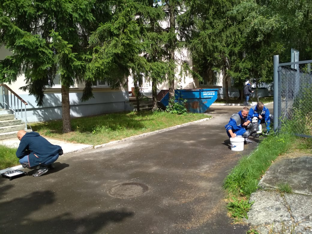 В Тверьэнерго проходит парко-хозяйственный день