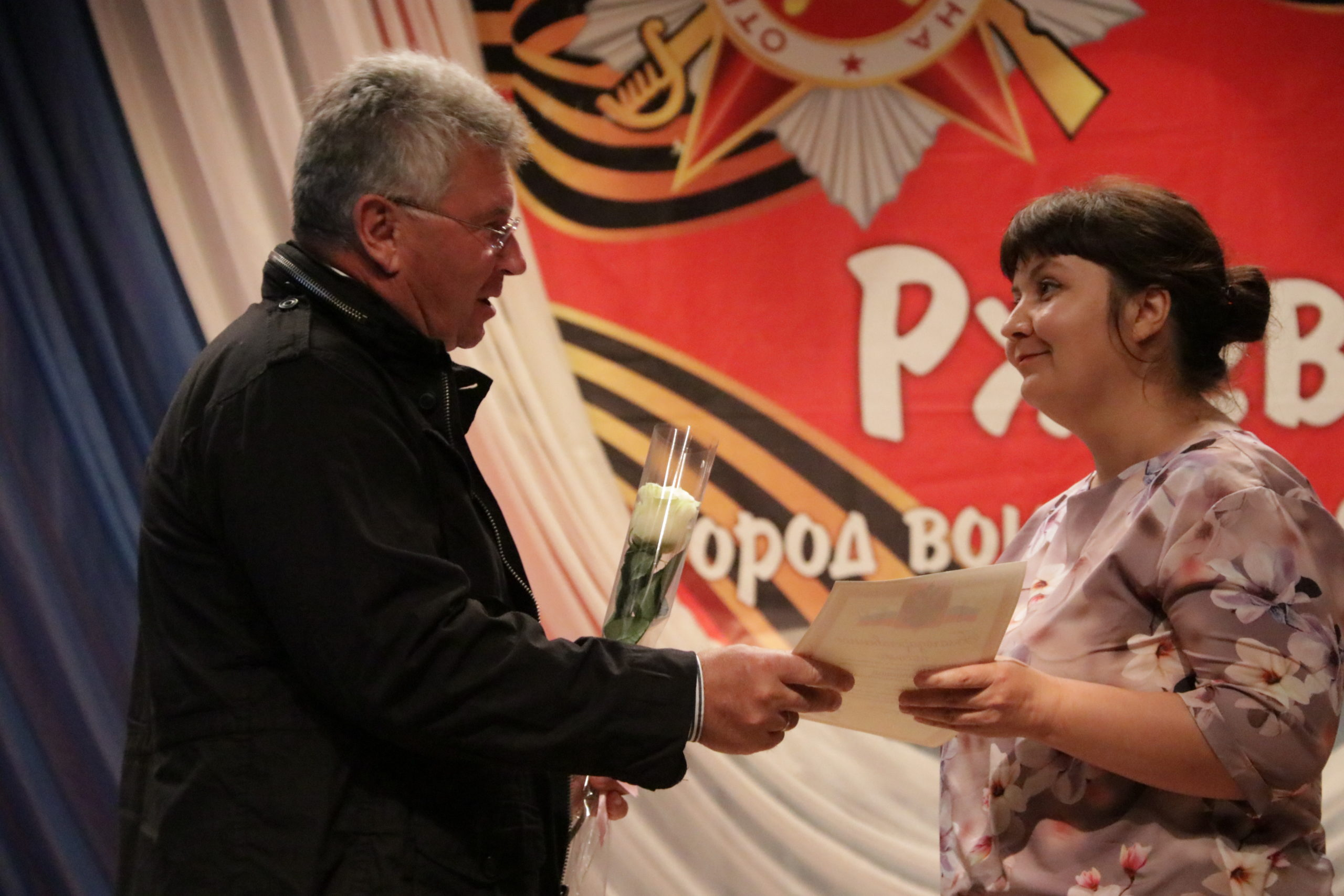 Равнение на Победу: Андрей Белоцерковский вручил дипломы юным ржевским патриотам