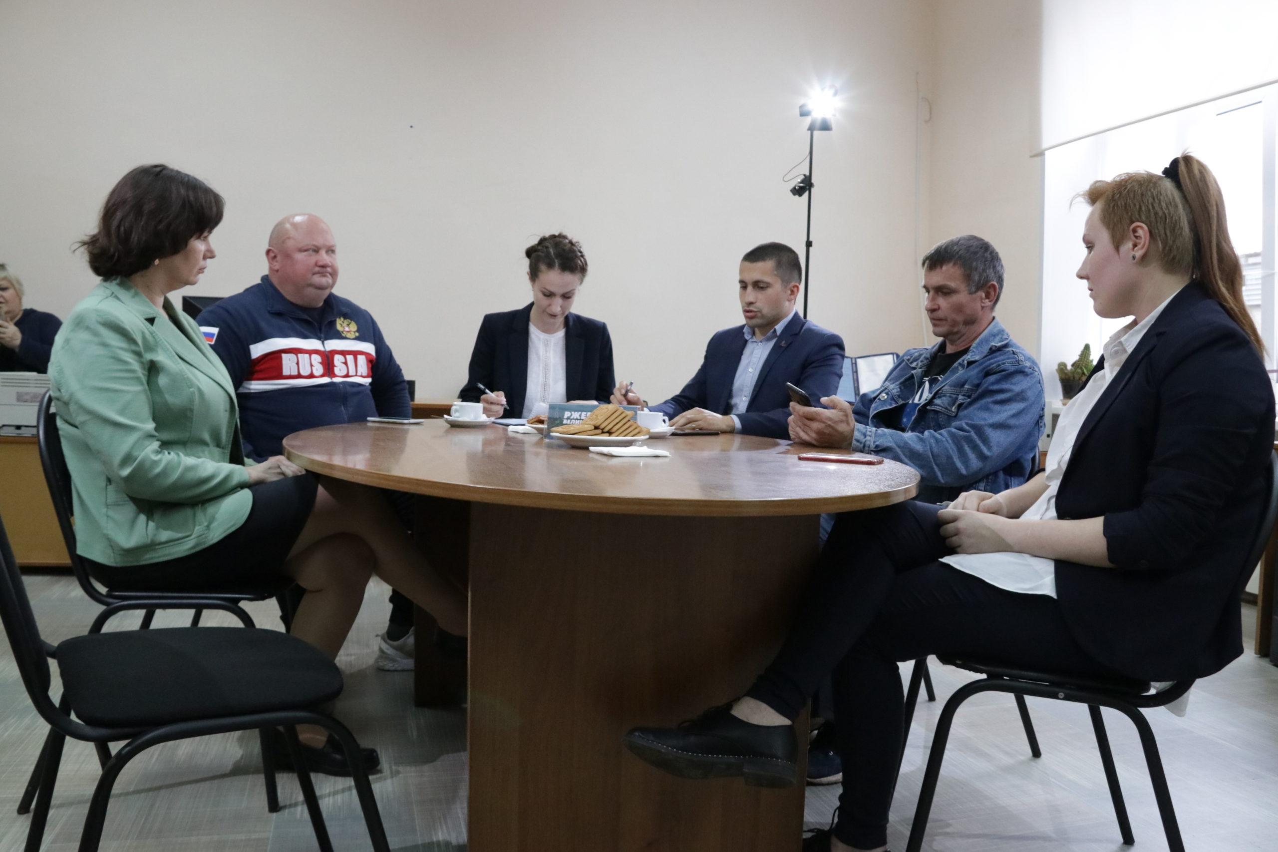 Ржевские общественники обсудили работу с молодёжью и перспективы возрождения высшего образования в районе