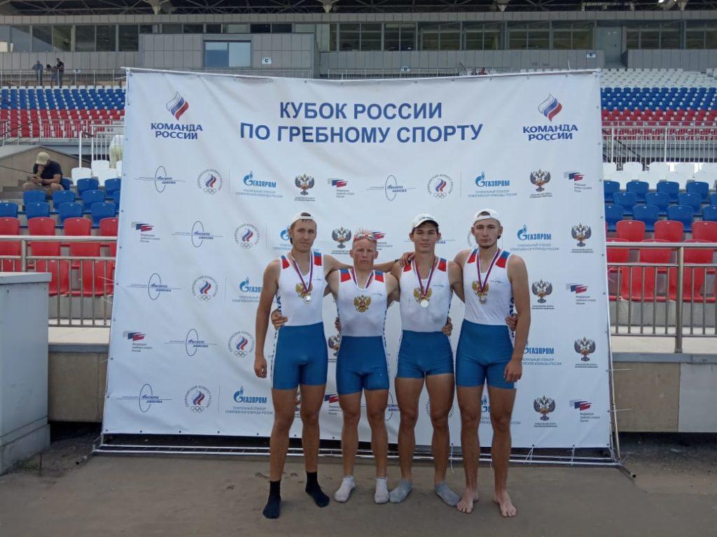 Тверские гребцы привезли два серебра с Кубка России