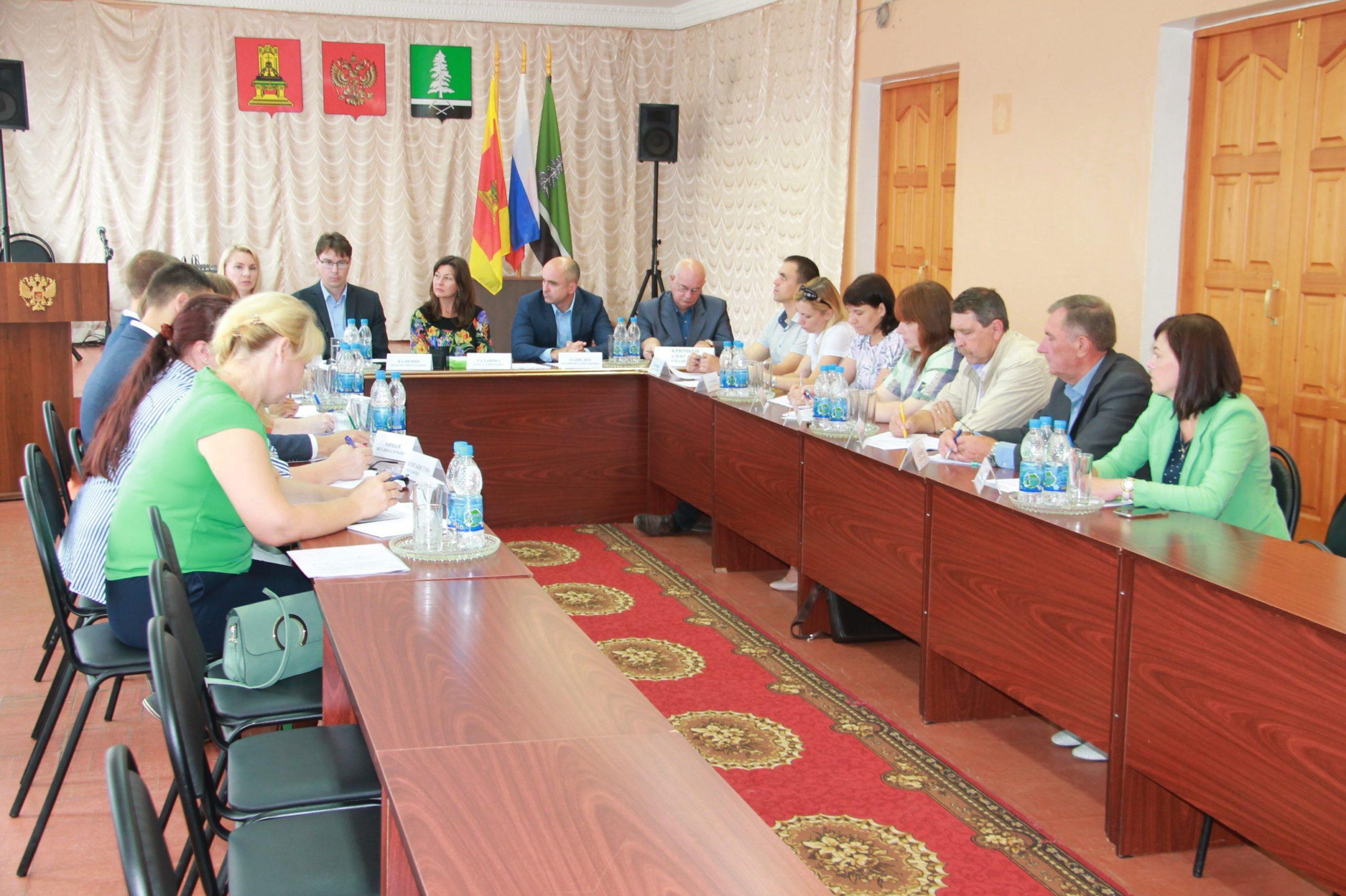 В Нелидовском районе прошла встреча архитекторов
