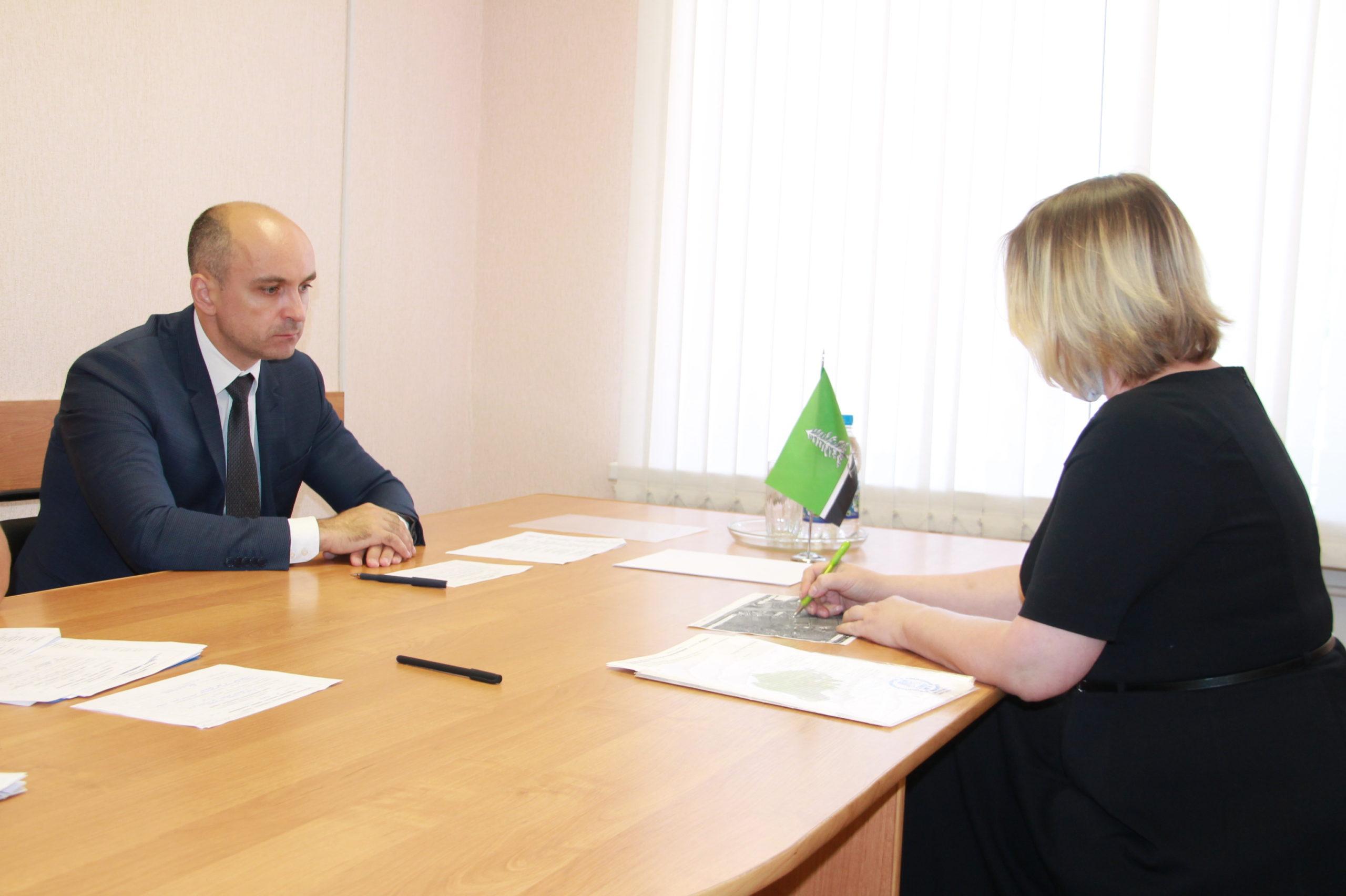 Глава Нелидовского района провел личный прием граждан