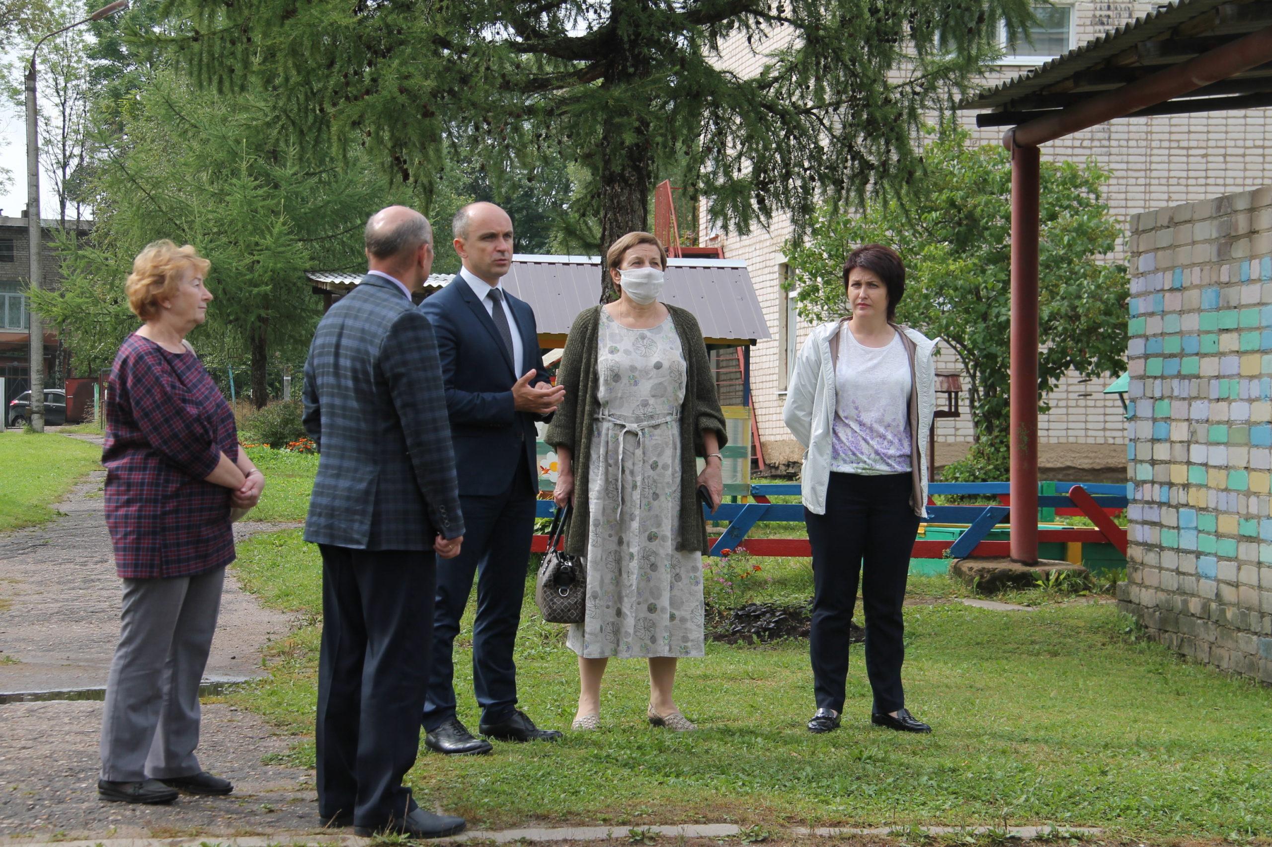 В Нелидовском районе готовятся к новому учебному году