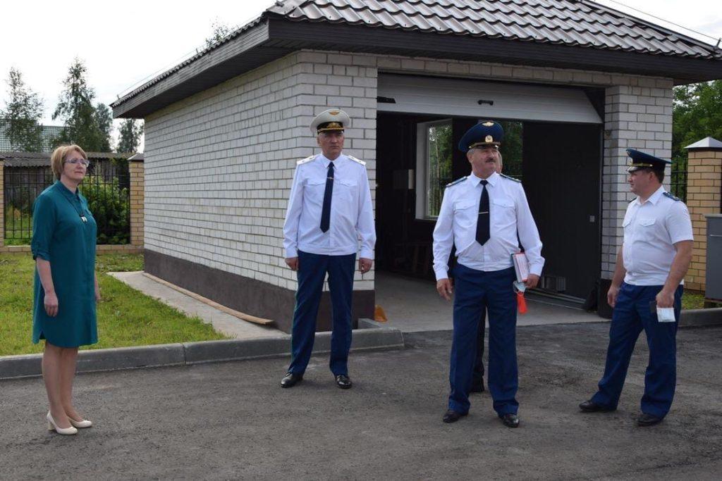 Прокурор Тверской области открыл новое здание прокуратуры Фировского района