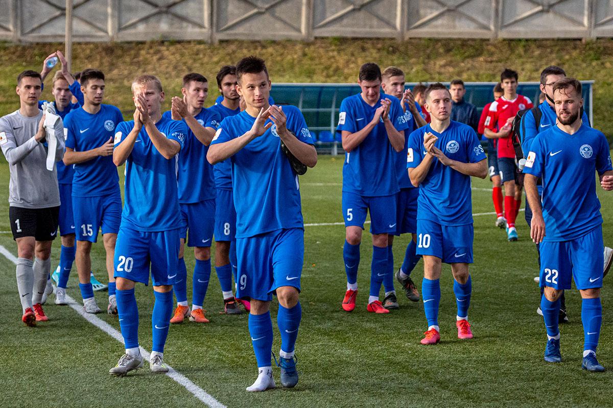 Тверской футбольный клуб остается в числе лидеров профессиональной лиги