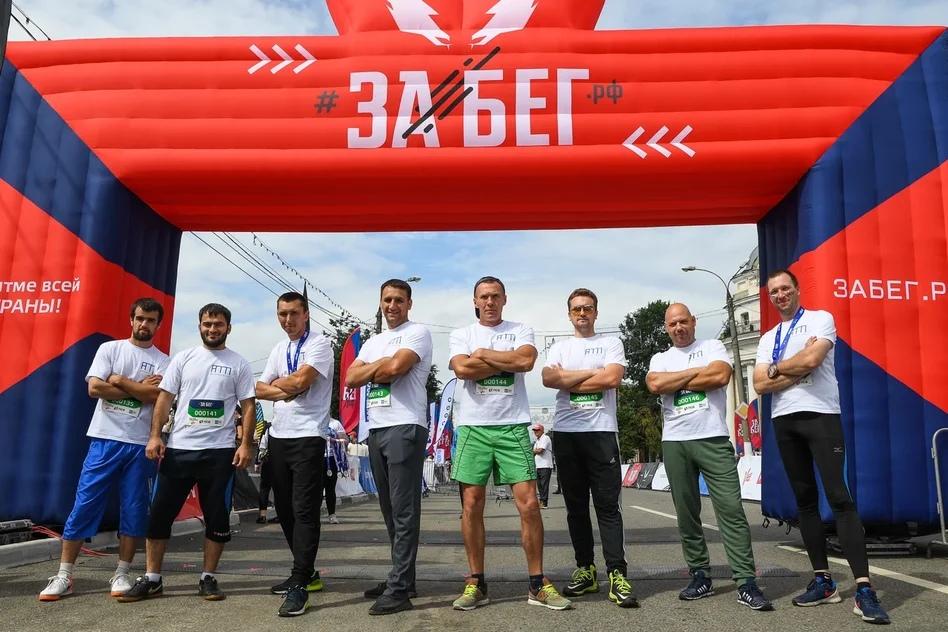 Водители общественного транспорта Твери приняли участие в пробеге «Забег.рф»