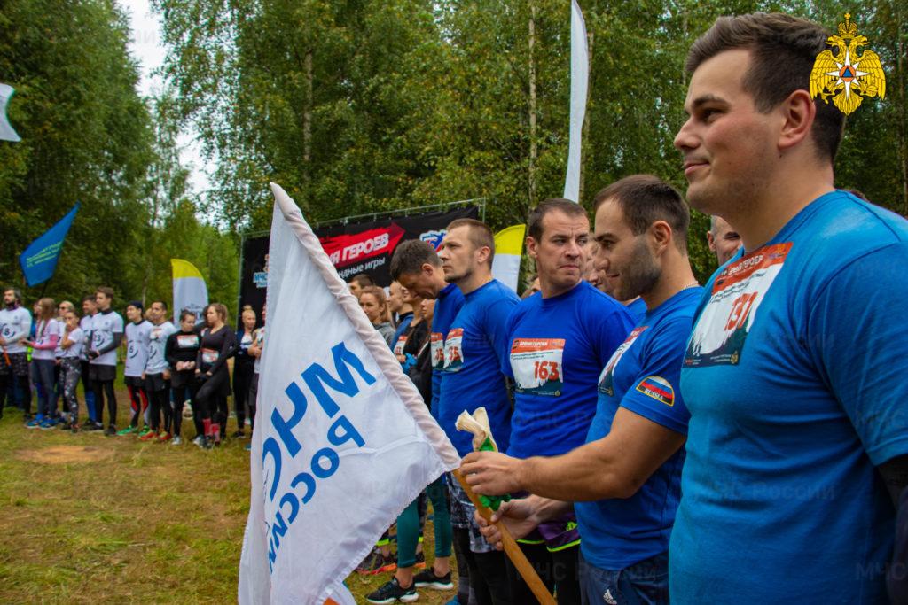 «Время героев»: под Тверью прошла спортивная гонка к 30-летию МЧС