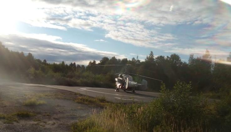 Вертолет санавиации срочно доставил пациента из Нелидовской ЦРБ в Тверь