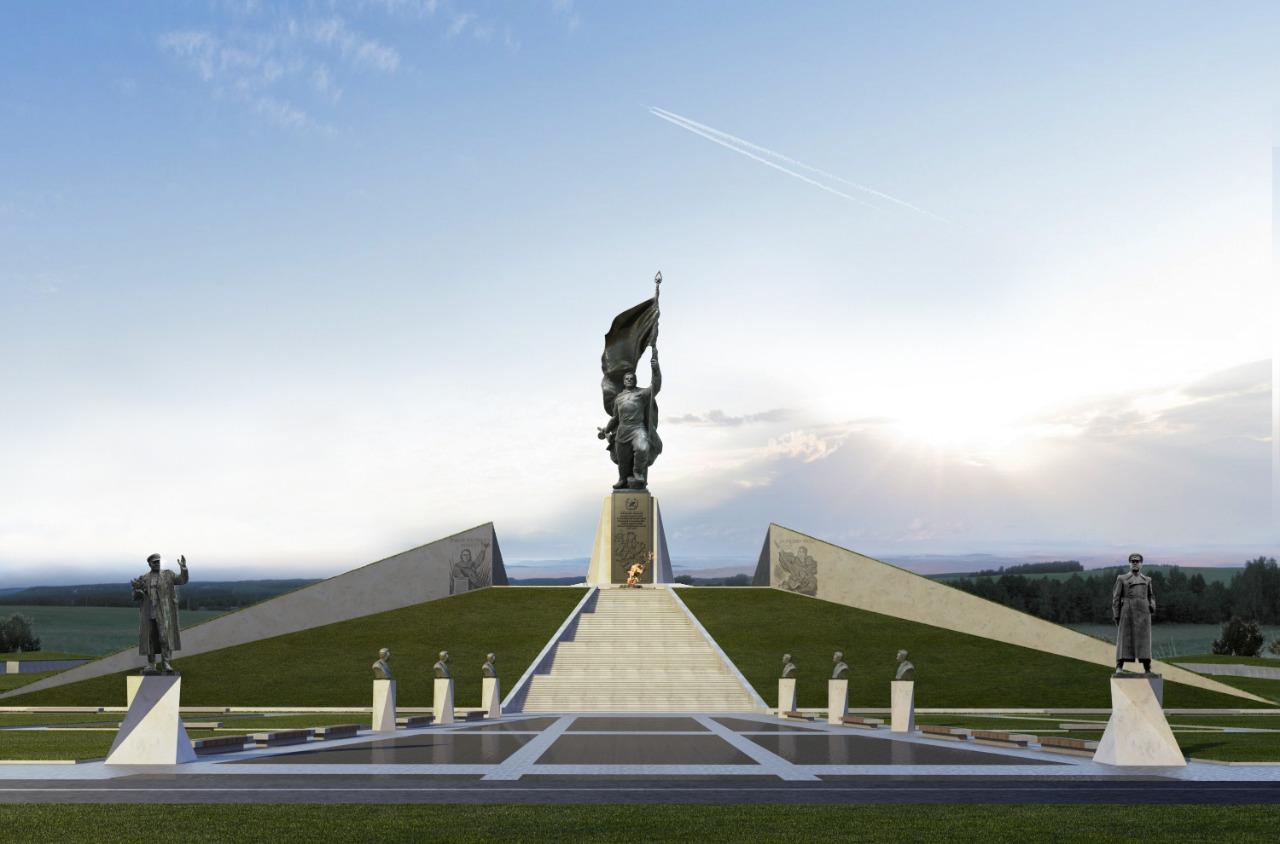 Скульптор Андрей Коробцов показал первую версию Ржевского мемориала
