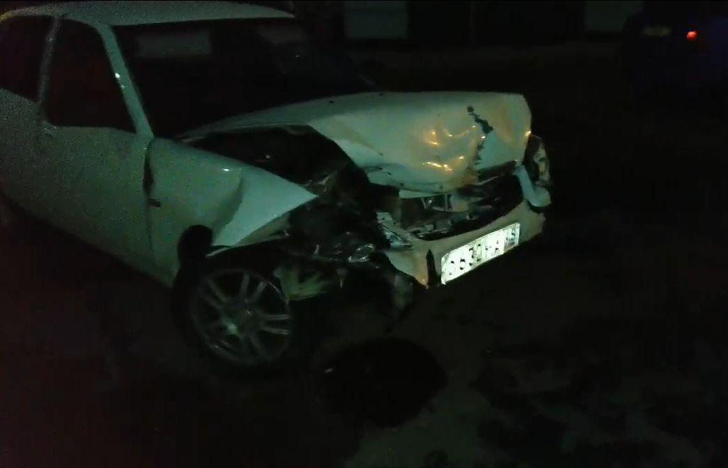 В Твери пьяный водитель устроил погром на парковке
