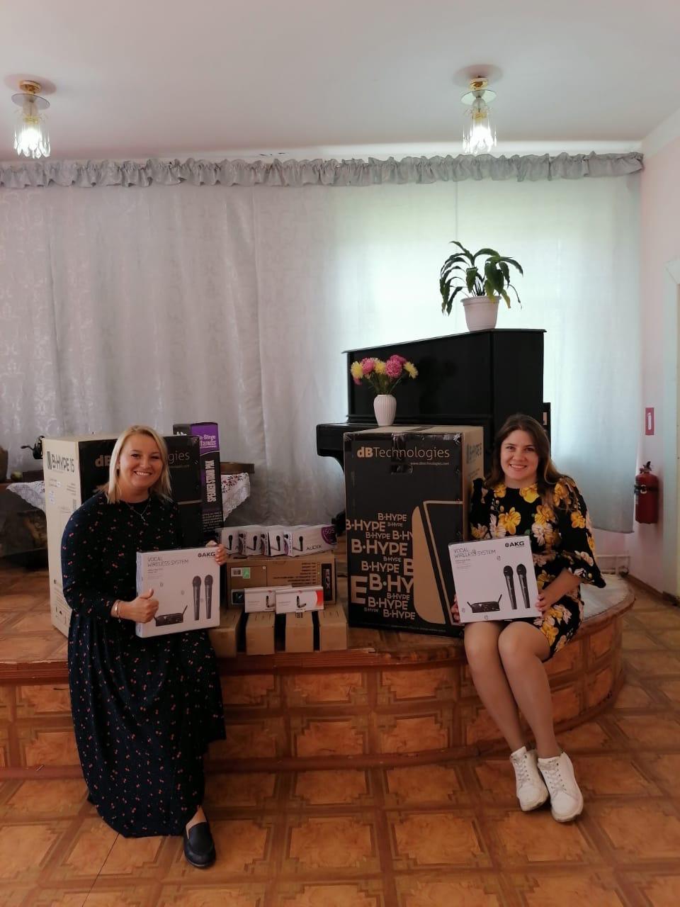 В Ржевском районе сельские ДК получили субсидии на микшерные пульты