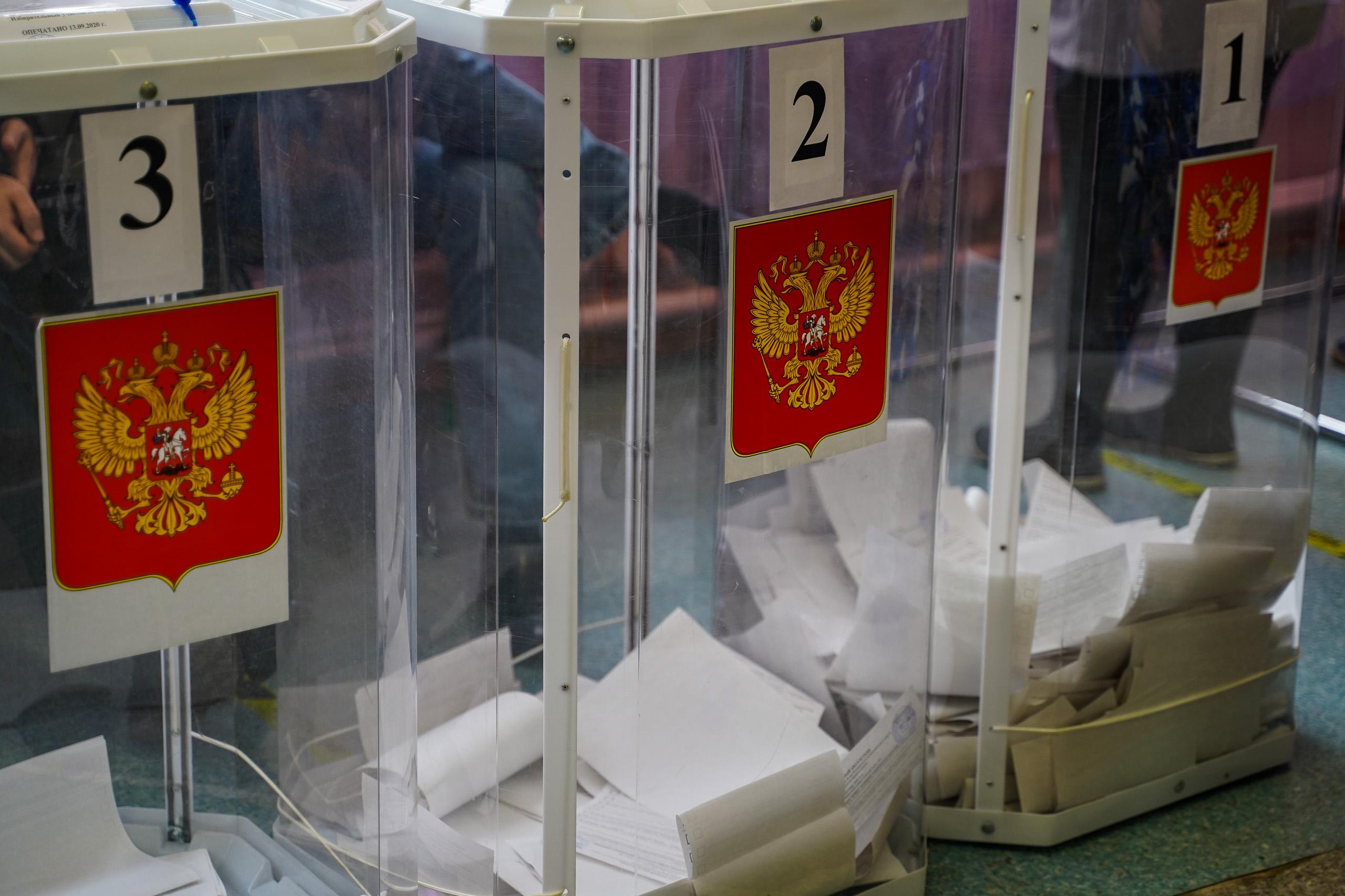 По итогам выборов в Тверской области представители партии «Единая Россия» получат почти 80% мандатов