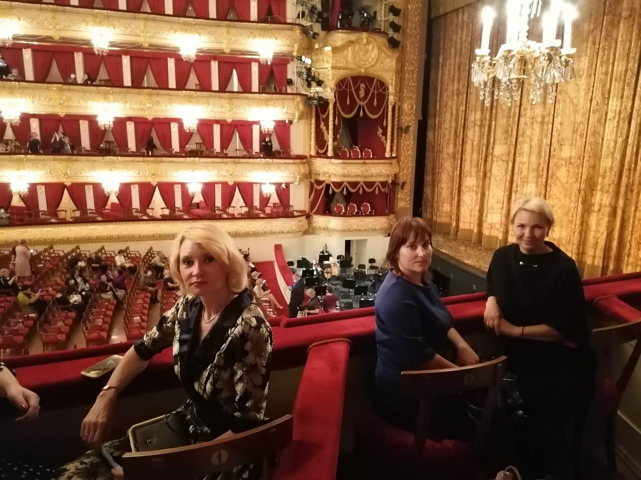 Медики и соцработники Тверской области посмотрели балет в Большом театре