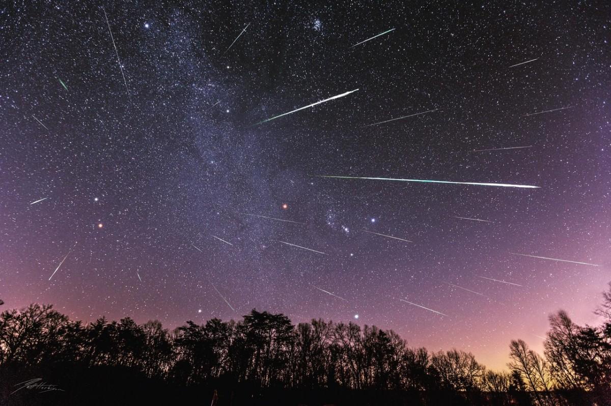 Жители Тверской области смогут загадать желание на падающую звезду