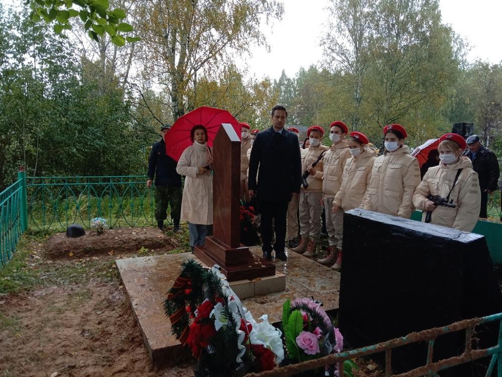 Торжественная церемония перезахоронения останков советских солдат прошла в районе Тверской области
