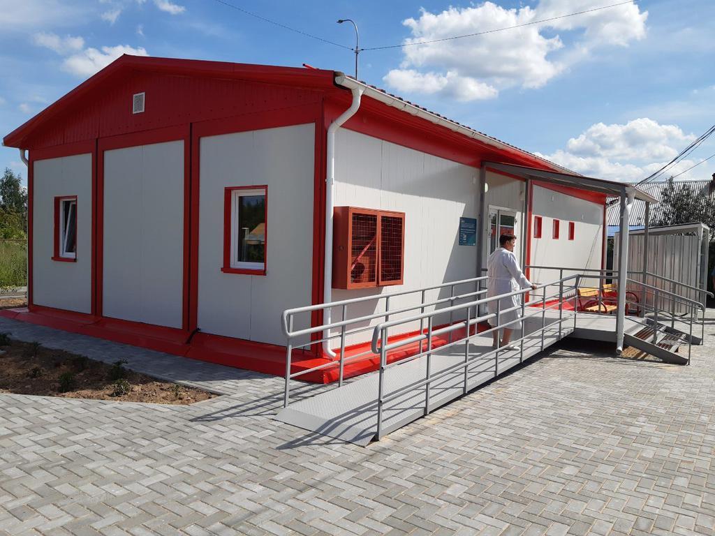 16 модульных фельдшерско-акушерских пунктов установят в Тверской области