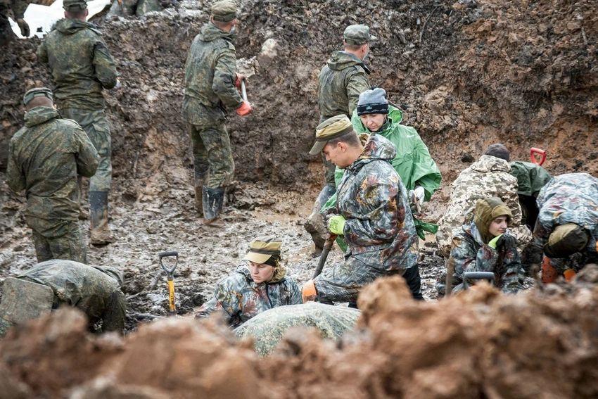 «Ржев. Калининский фронт»: с начала экспедиции подняты останки 297 солдат и установлено 11 имен