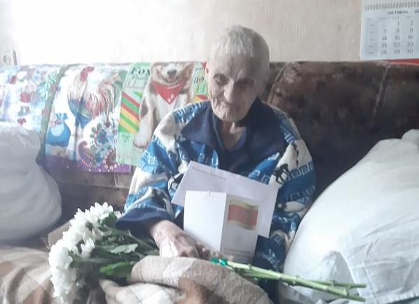 Игорь Руденя поздравил с днем рождения труженицу тыла Наталью Кирилловну Епифанову